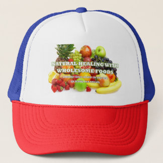 Fruity Cool Natural Healing AwarenessTrucker's Cap