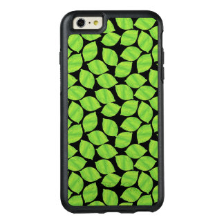 Fruity Green Limes, Black Background to Customize OtterBox iPhone 6/6s Plus Case