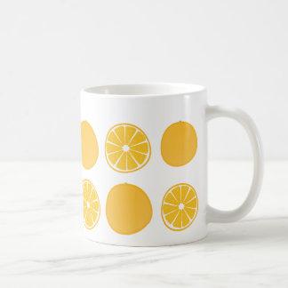 Fruity orange mug