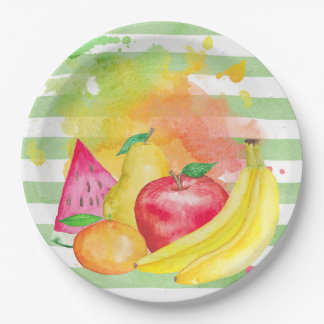 Fruity Paper Plate
