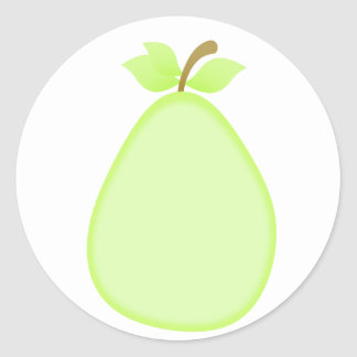 Fruity pear stickers