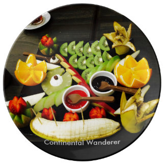 Fruity Plate Porcelain Plate