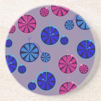 Fruity ride pattern coaster