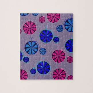 Fruity ride pattern jigsaw puzzle