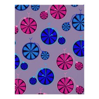 Fruity ride pattern letterhead