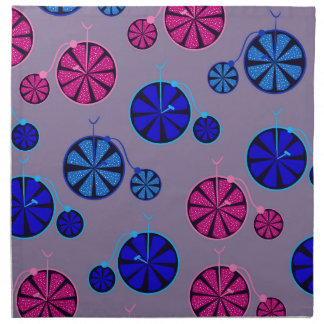 Fruity ride pattern napkin