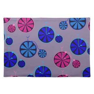 Fruity ride pattern placemat
