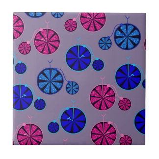 Fruity ride pattern tile