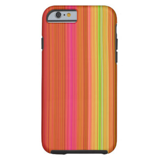 Fruity Stripes Tough iPhone 6 Case