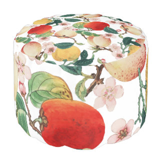Fruity Summer Pouf