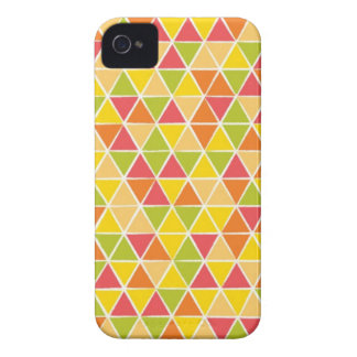 Fruity triangles iPhone 4 cases