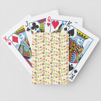 Fruity Unicorns Bicycle Playing Cards
