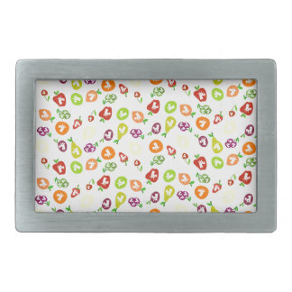Fruity Unicorns Rectangular Belt Buckle
