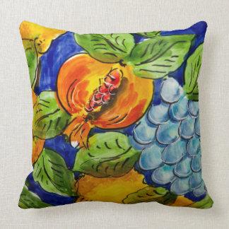 Fruity Watercolour Art Design Throw Pillow