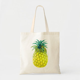 Fruity Yellow Pineapple Tote
