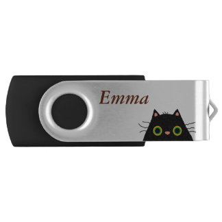 Frumpy Cat Swivel USB 2.0 Flash Drive