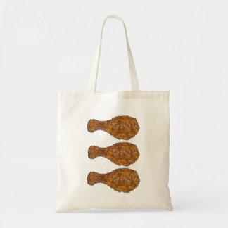Fry Fried Chicken Drumstick Drumsticks Foodie Tote
