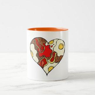 Fry Up Heart Mug