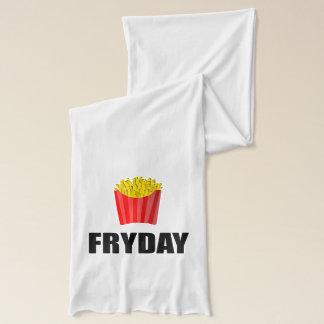Fryday Friday Fries Scarf