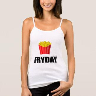 Fryday Friday Fries Tank Top