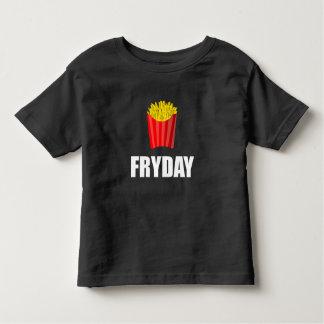 Fryday Friday Fries Toddler T-shirt