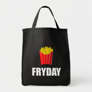 Fryday Friday Fries Tote Bag