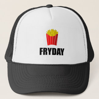 Fryday Friday Fries Trucker Hat