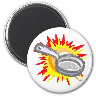 Frying Pan Gurl Frying Pan Magnet