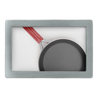 Frying pan rectangular belt buckle