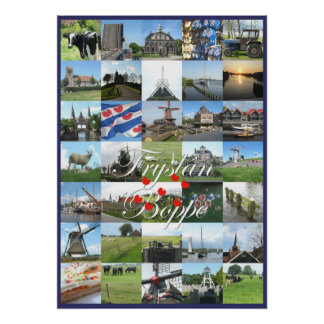 Fryslan Boppe Friesland Photo Poster