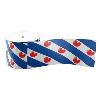 Fryslân Flag Grosgrain Ribbon