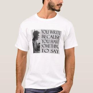 FSF Writing Quote T-Shirt