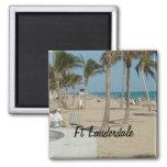 Ft Lauderdale Beach Fridge Magnet