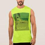 Ft Lauderdale Beach Lifeguard Stand Sleeveless T-shirts