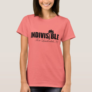 FT LAUDERDALE Indivisible - women's t-shirt - blk