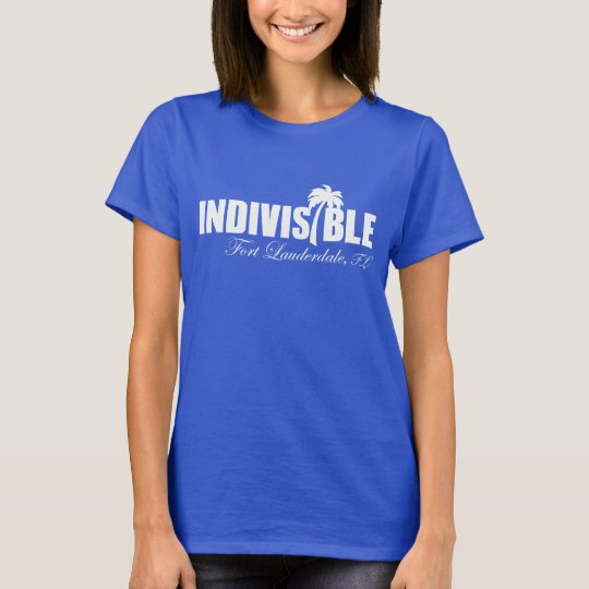 FT LAUDERDALE Indivisible - women's t-shirt - wht