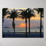 Ft. Lauderdale Sunset Poster