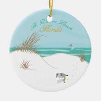 Ft. Walton Beach (Florida) Ceramic Ornament