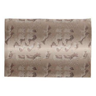 FTA Desert Camouflage Camo Pattern Pillowcase