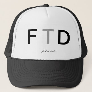 FTD TRUCKER HAT