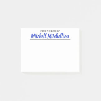 FTDO Beloved Blue Personalized Post-it Notes
