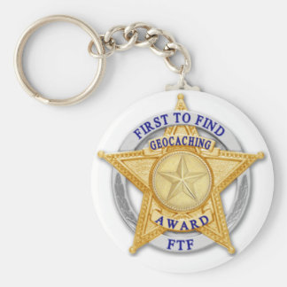 FTF - First to Find Award Keychain