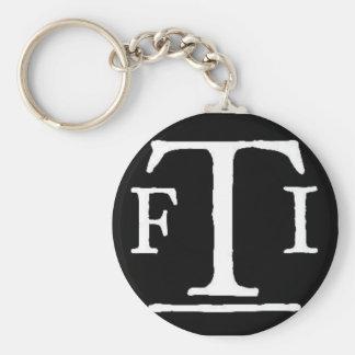 FTI logo 2 Keychain