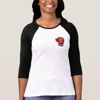 FTJB Ladies Mdm Raglan Blk T-Shirt