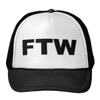 FTW TRUCKER HAT