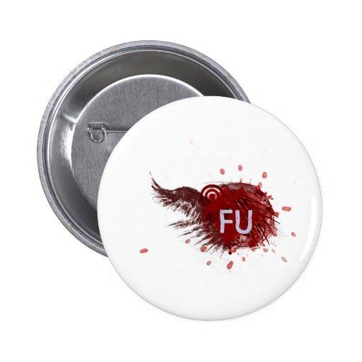 FU Blog Logo Pinback Button