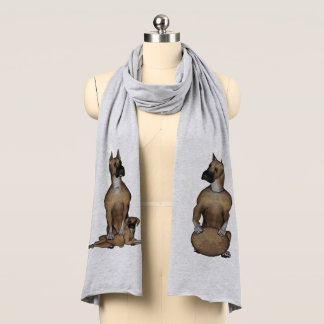 Fu Dog Great Dane Scarf