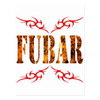 FUBAR POSTCARD
