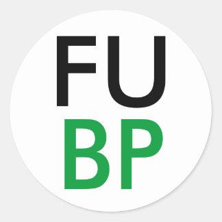 FUBP CLASSIC ROUND STICKER
