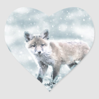 fuchs heart sticker